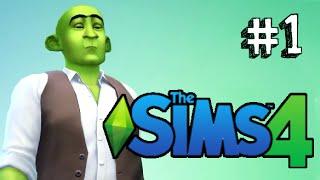 The Sims 4 - UNA FAMIGLIA FANTASTICA!! (Shrek è un figo)
