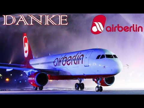 [REAL ATC] Air Berlin Forever VERY LAST FLIGHT! #BER4EVR