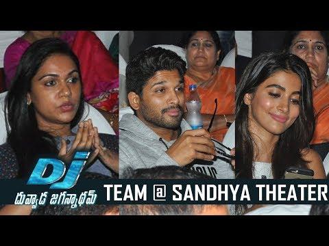 Xxx Mp4 DJ Duvvada Jagannadham Team Watches Dj Movie Sandhya Theater TFPC 3gp Sex