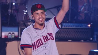 """J. Cole - """"Crooked Smile"""" Philly July Jam"""