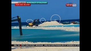 Mayor ng Kalayaan, nasaksihan daw kung paanong bakuran ng mga Chinese fishing vessel ang mga sandbar