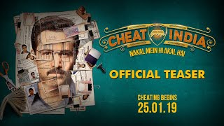 Official Movie Teaser: CHEAT INDIA | Emraan Hashmi | Shreya Dhanwanthary | Soumik Sen