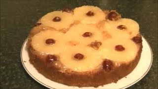 UPSIDE DOWN PINEAPPLE CAKE *COOK WITH FAIZA*