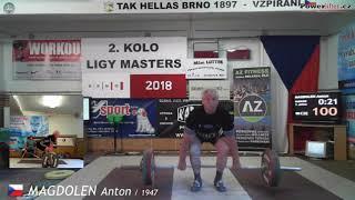 Magdolen Anton (1947), NH1, 100 kg
