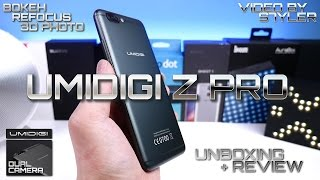 UMIDIGI Z Pro (Unboxing+Review) Dual Camera with 3D Photo, Bokeh, Re-focusing // Video by s7yler