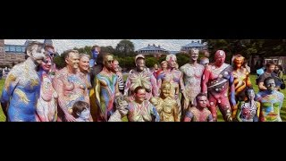 The Artists Overview From Amsterdam Bodypainting Day 2016