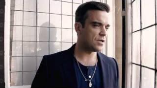 Robbie Williams Robbie in rehearsal