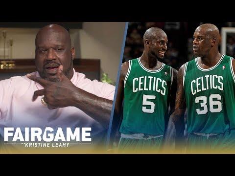 Shaq on Paul Pierce Kevin Garnett I Robbed the Celtics. I Was Ring Chasing FAIR GAME