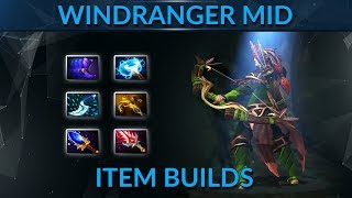 How to win mid with the right items playing Windranger