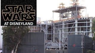 Disneyland - 10/20/17 Star Wars: Galaxy's Edge Construction Update