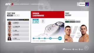 Top 3 EA UFC 3 PS4 Ranked Championships