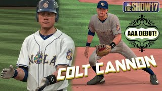 MLB The Show 17 Colt Cannon Road To The Show EP10 AAA DEBUT New Orleans Baby Cakes MLB 17