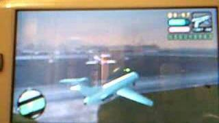 How to get in the big plane- GTA-vcs PSP