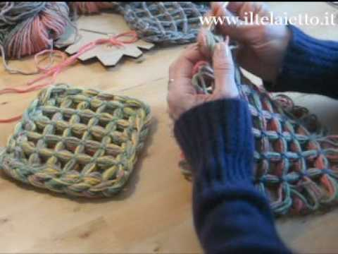 butterfly loom 3 modi per unire i quadrati