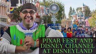 Disney Podcast - PIXAR FEST AND DISNEY CHANNEL AT DISNEYLAND - Dizney Coast to Coast - Ep. 526