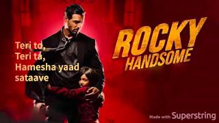 Rock Tha Party - Rocky Handsome(Audio+Lyrics)