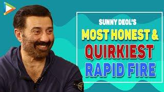 WOW: Salman Khan & Akshay Kumar's QUALITIES Sunny Deol Wants To See In Karan | Rapid Fire