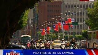 NTVL: Visa free entry sa Taiwan, sisimulan sa Setyembre