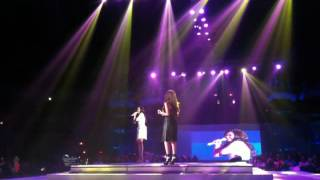 Sarah Geronimo and Rachelle Anne Go - Aegis Medley Live at Pistahang Cebuana, Araneta Colesium