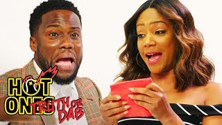 Kevin Hart and Tiffany Haddish Play Truth or Dab | Hot Ones