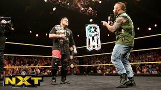 Eric Young interrupts Samoa Joe:  WWE NXT, May 4, 2016