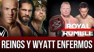 WWE NOTICIAS || Kurt Angle regresa al ring en TLC. Aj Styles VS. Finn Balor. Royal Rumble 2018