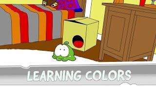 Learning Colors with Om Nom - Strange Delivery