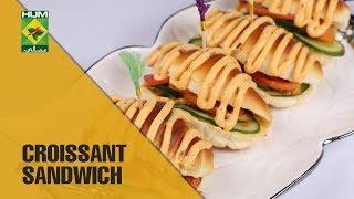 Croissant Sandwich Recipe | Evening With Shireen | Masala TV Show | Shireen Anwar