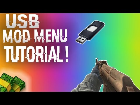 VOICE TUTORIAL: How To Install & Use USB Mod Menus + DOWNLOADS (BO2, MW2, GTA 5 + MORE!)