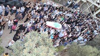 لحظات الوداع الأخير للموسيقار ملحم بركات في مسقط رأسه كفرشيما
