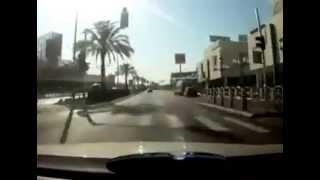 مطاردة الشرطة الاسرائيلية -ريشون BMW