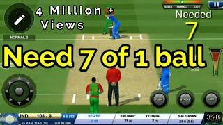 Bhuvi saves India!!   Real Cricket 18  