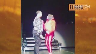 #RapetónNews|Ivy Queen besa a Don Omar en la boca