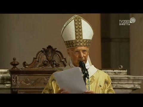 XXVI Congresso Eucaristico Nazionale: l'omelia del card. Angelo Bagnasco