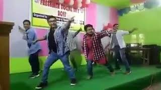 Gwrbw khonayao ma dong performed by collage students