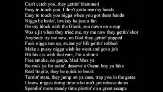 """Kodak Black And Jackboy """" From The G To The A"""" (Lyrics) (Tee Grizzley remix)"""