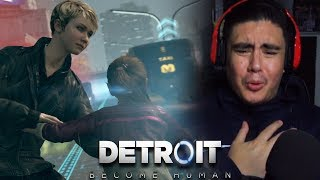 THIS WHOLE CHASE SCENE GAVE ME A HEART ATTACK | Detroit: Become Human [5]