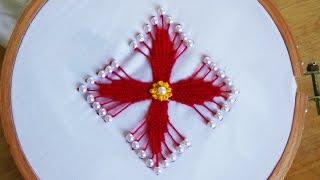 Hand Embroidery: Kadai Kamal