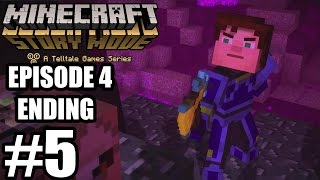 Minecraft: Story Mode Episode 4 - Ending Gameplay Walkthrough Part 5 - No Commentary [ HD ]