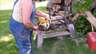 Beverly's Hillbilly 29 Milling lumber at the shanty