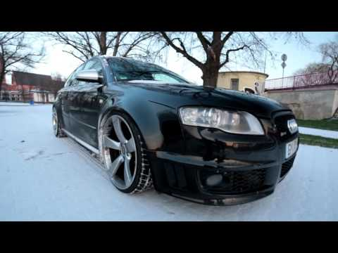 Audi RS4 B7 VS. WINTER - BY KUMAN - SOUND & DONUTS