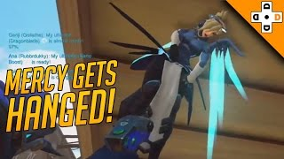 Overwatch FUNNY & EPIC Moments 57 - MERCY GETS HANGED! - Highlights Montage