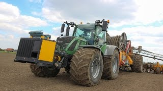 VEENHUIS ROTOMAX | Slurry Injection | Fendt 516 + NH T7.220