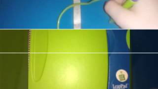 Green and blue leappad learning system from 2001