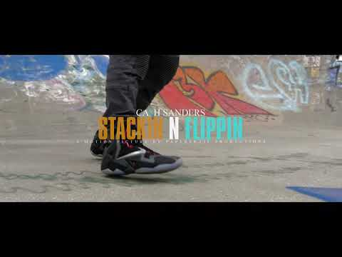 Cash Sanders Stacking N Flipping  Official Video #BOE