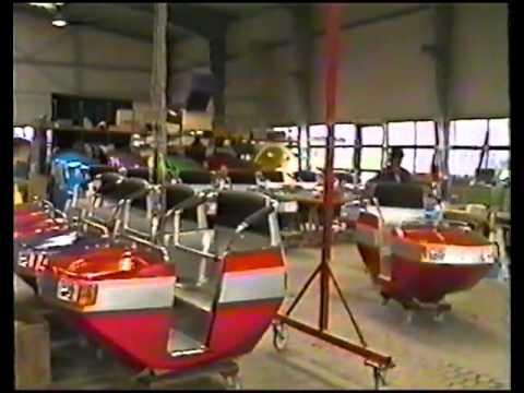 Kijkje in de fabriek bij Huss Duitsland 1989 (D)