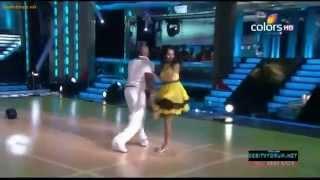 Sanath Jayasooriya first dance at Jhalak Dikhla Jaa - Kedapatha.com.FLV