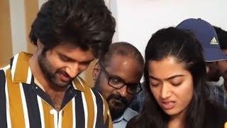 Vijay Devarakonda Birthday Celebrations | Unseen Video | Rashmika Mandanna | Manastars