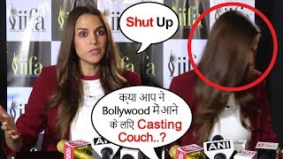 Neha Dhupia Gets ANGRY On Reporters STUPID Question & Walks Off From Interview