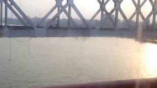 New rail bridge on river Meghna at Voirob-Ashugonj